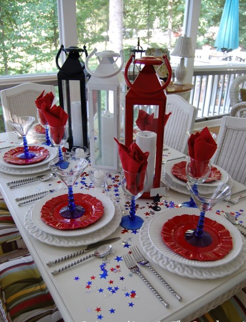 Red-White-Blue-Table-for-Patriotic-Holiday