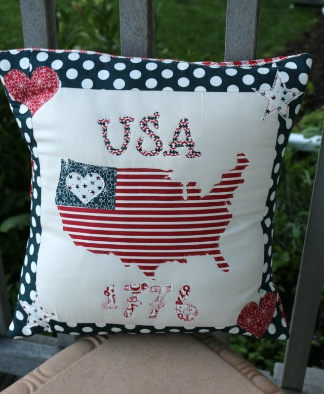 USA Pillow FInish