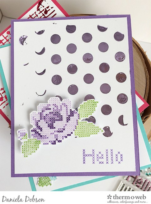 Hello card set 3 by Daniela Dobson