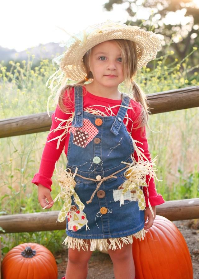 Tamara Scarecrow Costume made with HeatnBond Soft Stretch