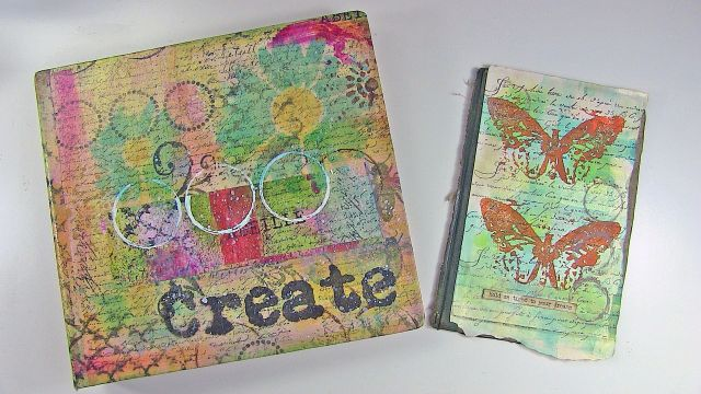 Rebekah Meier Mix It Up Monday Adhesive Sheet Project
