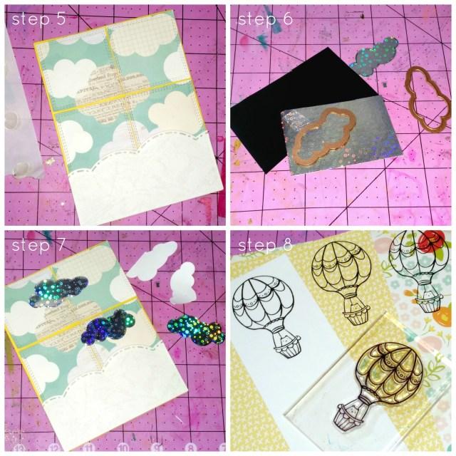 Stitched Tile Sky Background step5-8