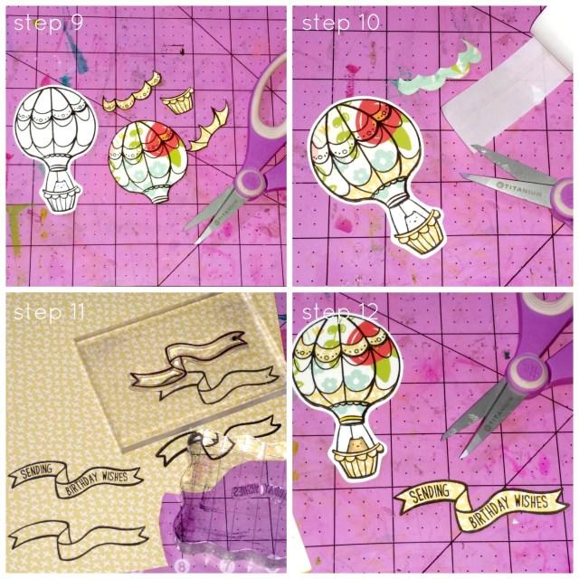 Stitched Tile Sky Background step9-12
