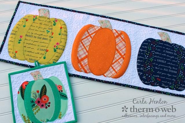 Pumpkin palooza by Carla Henton 2 projects for Thermoweb