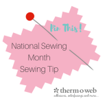 Sewing Tip Graphic