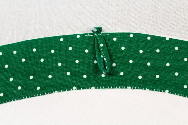 hanging loop for watermelon oven mitt by carla henton