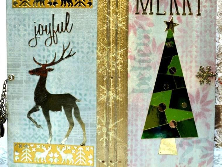 Mix It Up Mosaic Merry December Journal