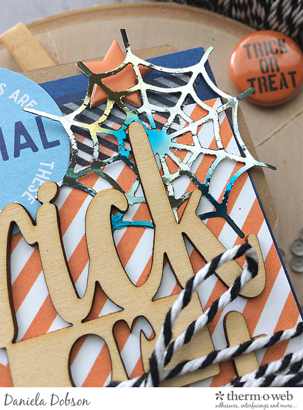 Halloween mini close by Daniela Dobson