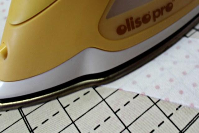 oliso pro in Joy pillow on heatnbond interfacing