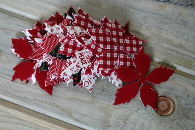 poinsettia wreath Amy Warner 4