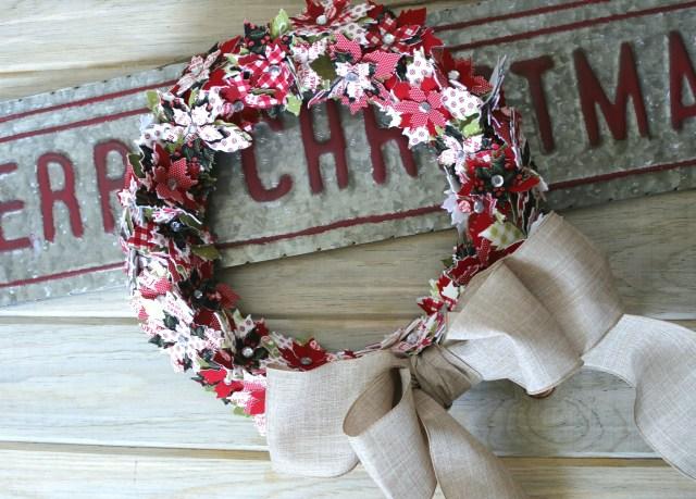 poinsettia wreath amy warner 8