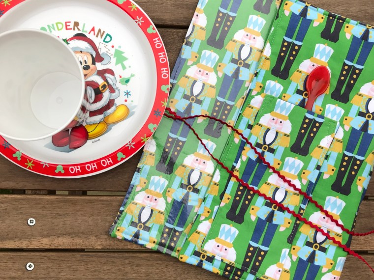 Holiday Rollup Children's Placemats