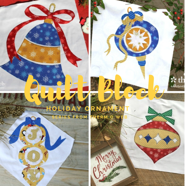 Quilt Block Ornament Series