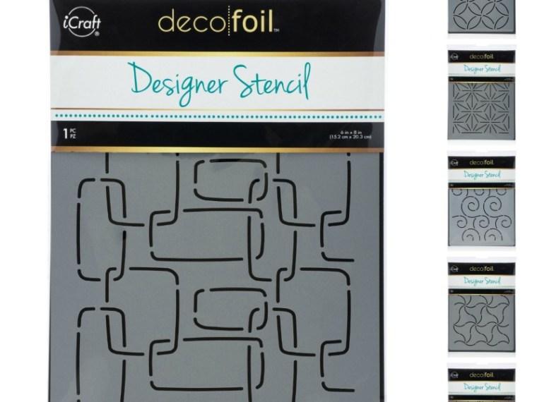 2018 Deco Foil Designer Stencils