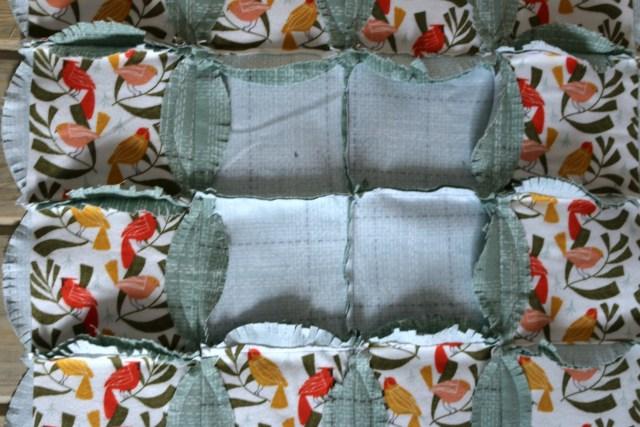 Dear Stella Winter Monogram Pillow Amy Warner 5