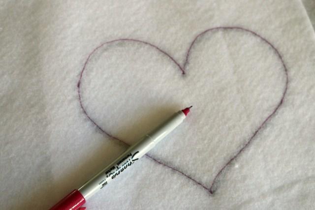 Patchwork Heart Mug Rug Amy Warner 7