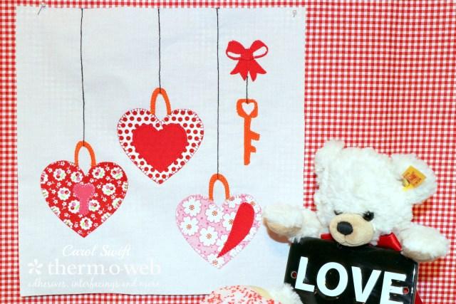 Love Sew Along Quilt Block