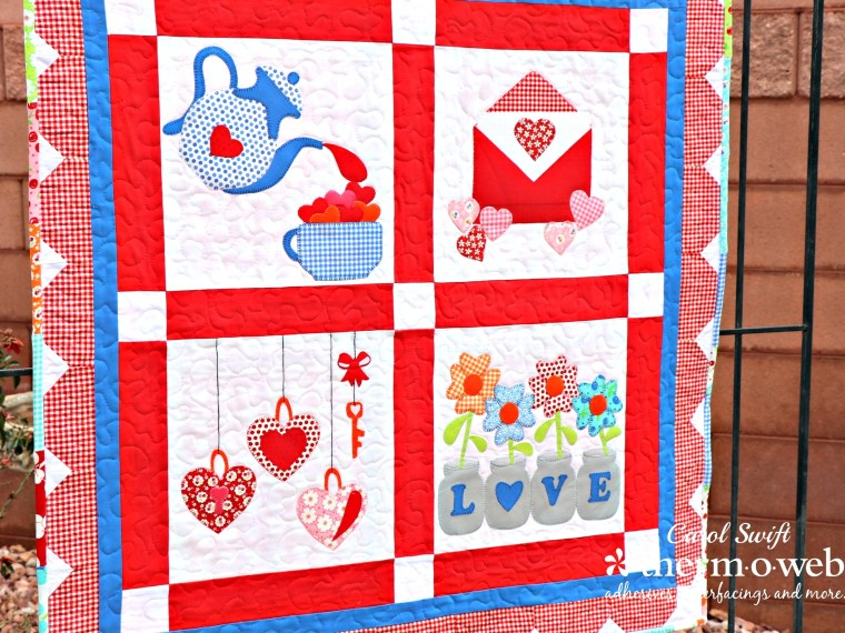Valentine Sew- Along Finished Quilts
