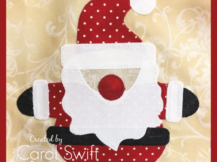 Christmas Sew Along Santa