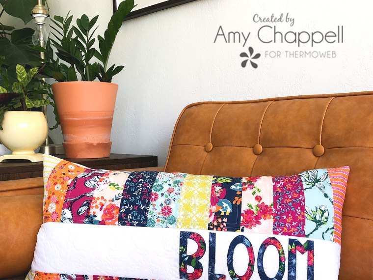 Bloom Quilted Pillow