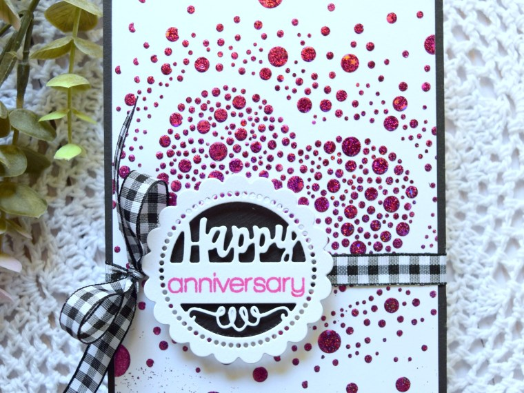 Happy Anniversary Card with Whimsy Stamps