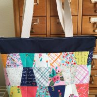 Tumbler Die Zip-Top Tote Bag Tutorial with HeatnBond Fusibles