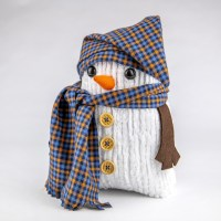Snowman Plushies with Liquid Fabric Fuse