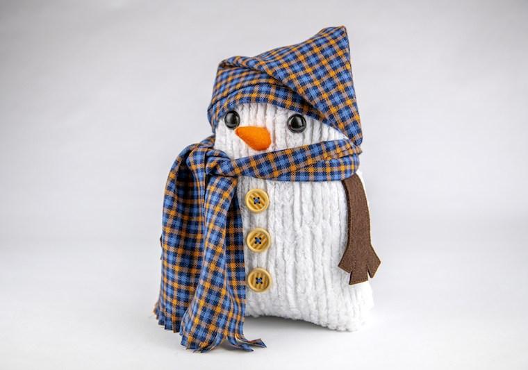 Snowman Plushie