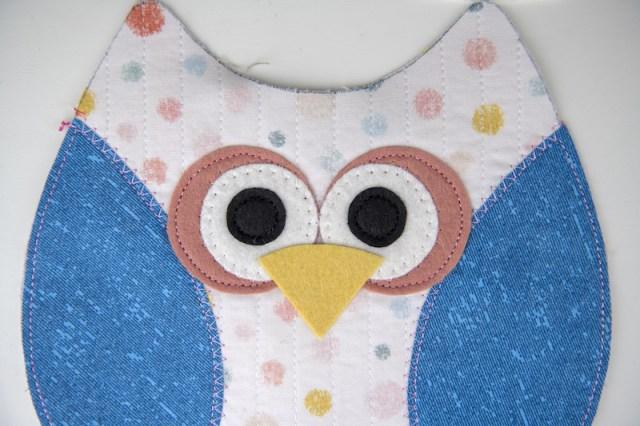 owl softie eyes