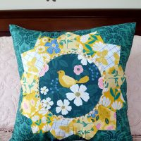 Summer Picnic Dresden Pillow with Basting Spray