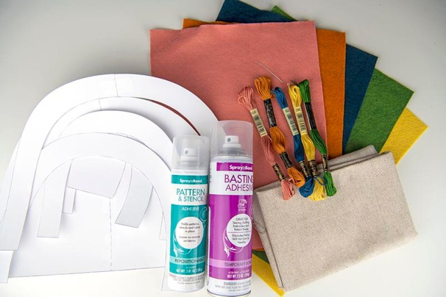 rainbow softie supplies