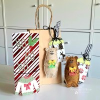 Christmas in July Benzie Design Collaboration - Tags, Ornaments and a Card, Oh My!