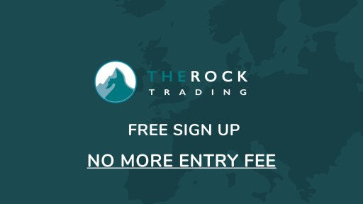 How to sign up on The Rock Trading for free