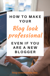 Here are 7 ways to make your blog look more professional, even when you are just starting out with a new blog, and without spending loads of money. #startablog #bloggingforbeginner #bloggingtips #bloggingsuccess #createablog