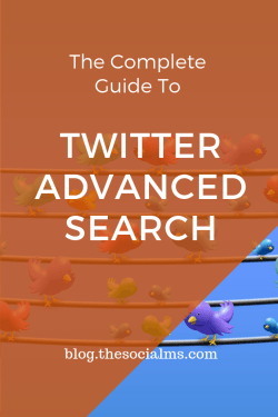 Almost anything on Twitter is searchable. There is far more to Twitter search than the little search bar in the top right corner of your Twitter web interface. The Twitter search engine is a very powerful one. Here is what you need to know about Twitter search #twitter #twittersearch #twitterfeatures #twittertips #twittermarketing #twitterstrategy #socialmedia #socialmediatips