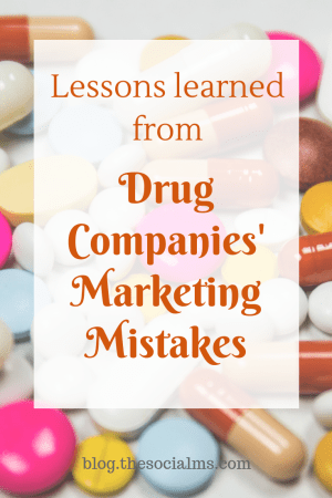 Some of the biggest pharma marketing mistakes have resulted in fines in the hundreds of thousands. Here is what you can learn from these mistakes. Common marketing mistakes with big impact. Brand failure #marketingmistakes #marketinglessons #marketingtips
