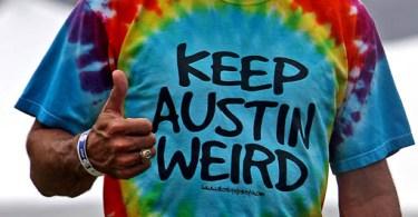 Keep Austin Weird Pop-Up Store