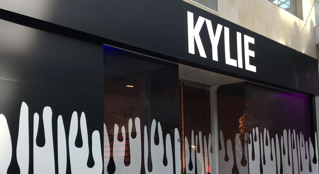 kylie jenner popup store