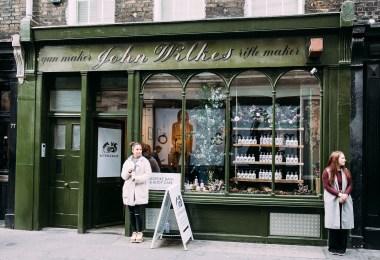 London pop-up shop