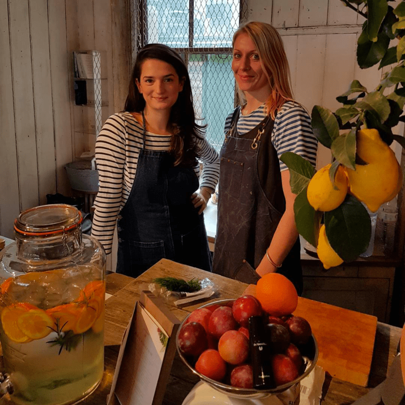 Elly Pear at Dr Hauschka Pop-Up