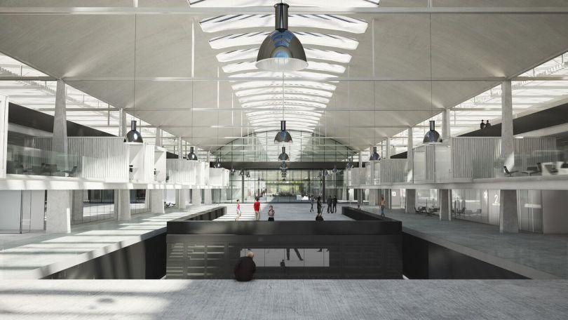 L'intérieur de Station F