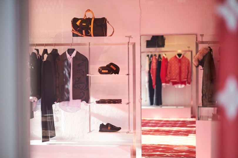 louis vuitton supreme pop-up store sydney