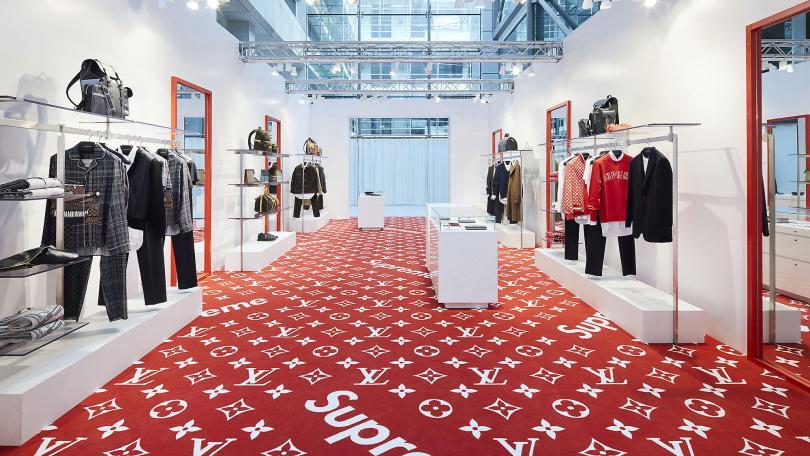 louis vuitton supreme pop-up store london