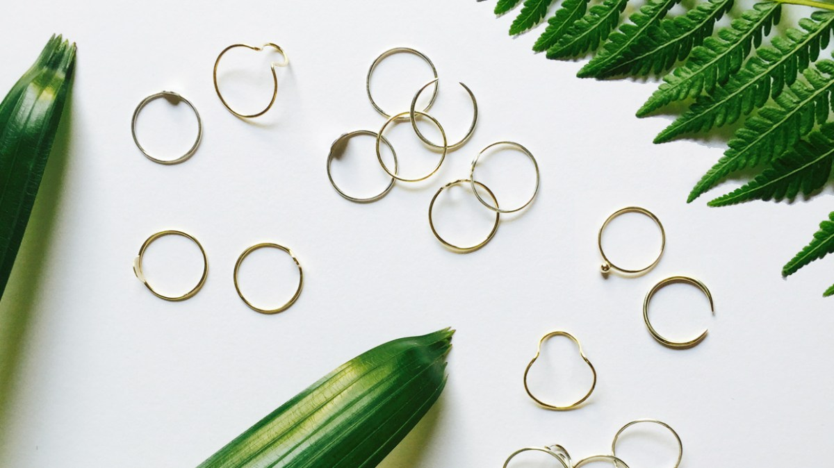 delicate jewellery, minimalist style, gold jewellery, minimalist jewellery, earrings, stacking rings, necklaces, rings, basic jewellery, simple jewellery, holiday gifts