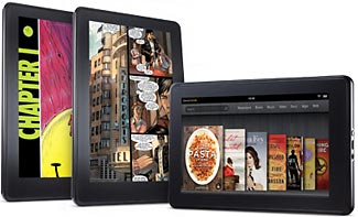 Amazon's new Kindle Fire
