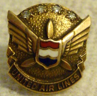 United Airlines Employee Pin
