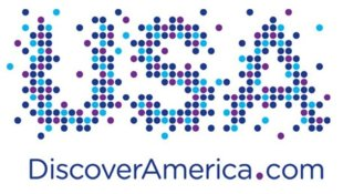 The logo chosen by the new organization tasked with globally promoting the US as a tourist destination