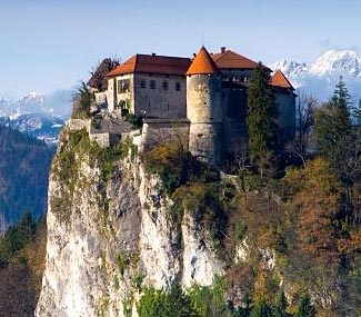 Beautiful Bled Castle, Slovenia.  We visit Bled on day 1.