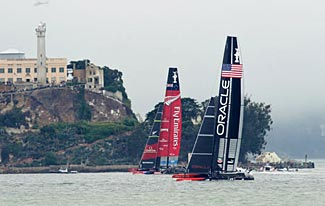 A brilliant turnaround by the Oracle boat this week saw the US defeat challenger New Zealand and keep the Americas Cup.