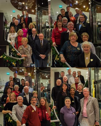 Pictures of some of the 60 Travel Insiders enjoying their 2013 Christmas Cruise.